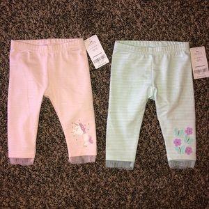 NWT baby girl pants
